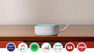 Echo Dot (3ª Geração): Smart Speaker com Alexa - R$200