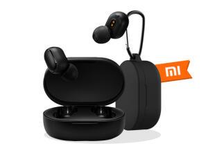 Mi True Wireless Earbuds Basic + Capa de silicone com mosquetão