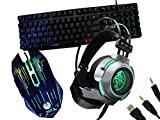 Kit Gamer Teclado Luz Led Mouse 3200dpi E Headset Hz3