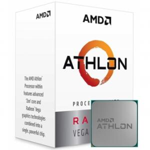 Processador AMD Athlon 220GE 3.4GHz, 2-Core 4-Thread
