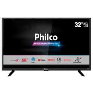 "Smart TV LED 32"" Philco PTV32G52S HD | R$855"