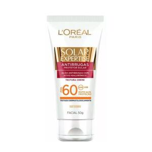 Solar Expertise Facial L'Oréal Paris Anti-Rugas FPS 60 - 50ml - R$30
