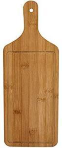 Table Tábua para Servir Bambu Natural Retangular, GS Internacional, Único, 40 x 15 cm