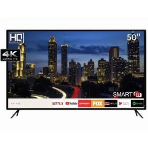 "Smart TV LED 50"" HQ HQSTV50NY Ultra HD 4K Netflix Youtube 3 HDMI 2 USB Wi-Fi - R$1799"