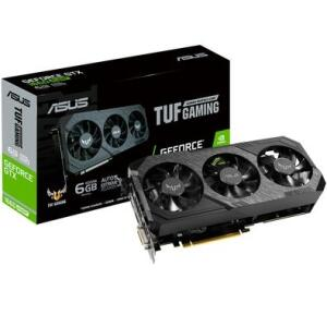 Placa de Vídeo Asus TUF3 NVIDIA GeForce GTX 1660 SUPER 6GB, GDDR6 - TUF 3-GTX1660S-O6G-GAMING - R$1399