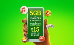 OI - 3GB + 2GB de Bônus, ligações e WhatsApp Ilimitado