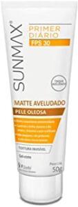 [Prime] Protetor Solar Sunmax Matte Aveludado Pele Oleosa Fps 30, 50g