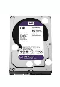 HD WD Purple Surveillance, 4TB, 3.5´, SATA - WD40PURZ - R$690
