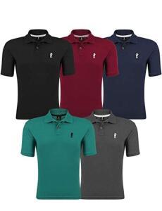 Kit 05 Camisas Polo - Polo Marine | R$130
