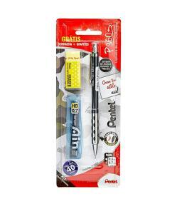 Lapiseira P360 0.7 Mm + Borracha + Grafites | R$13