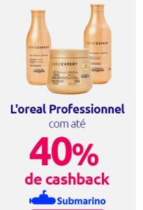 [AME] L'oreal Professional Com 40% De Cashback