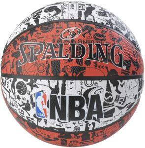 BOLA SPALDING BASQUETE NBA GRAFITTI R$ 102