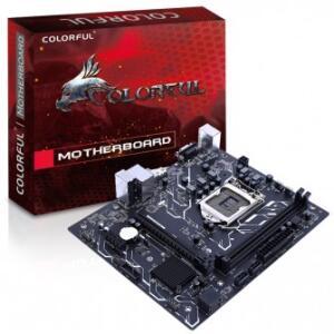 Placa Mãe Colorful H310M-E V20, Chipset H310, Intel LGA 1151, mATX, DDR4