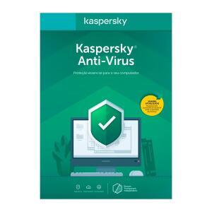 Kaspersky Antivírus 2020 1 para PC - Digital para Download | R$25