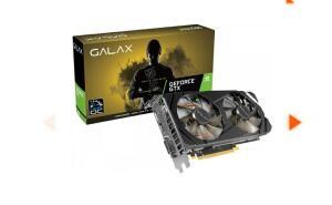 Placa de Vídeo Galax GeForce GTX 1660 | R$1679