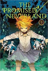 Livro -The Promised Neverland Vol. 5   R$13