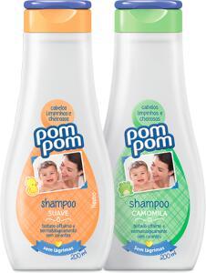 Kit Shampoo + Condicionador Pom Pom Grátis Sabonete