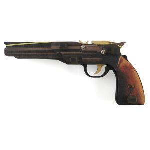 Pistola de Elástico Hopper (Brinquedo)