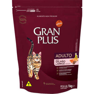 Ração Affinity PetCare GranPlus Salmão e Arroz para Gatos Adultos 10,1kg