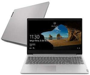 Notebook Lenovo Ideapad S145, Ryzen 5 3500U 4GB RAM, 1TB, Tela HD 15.6''
