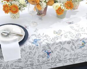 Toalha de mesa Retangular Karsten 8 lugares Sempre Limpa Dáfne