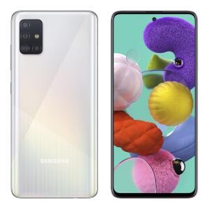 Smartphone Samsung Galaxy A51, Branco, 128GB | R$1.600