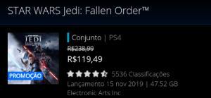STAR WARS Jedi: Fallen Order [Ps Store]