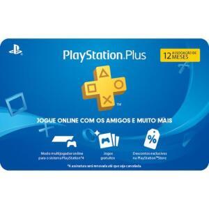 [Com AME R$90 ] Gift Card PSN Plus 12 meses | R$105