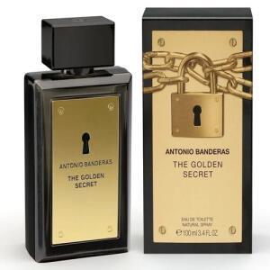 Perfume Masculino Antonio Banderas The Golden Secret EDT - 200ML