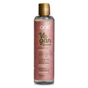 Shampoo QOD City Vegan & More 250ml | R$14