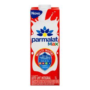 [CLUBE EXTRA] Leve 12 pague 9 - Leite Uht Integral Parmalat Max Caixa 1l R$3
