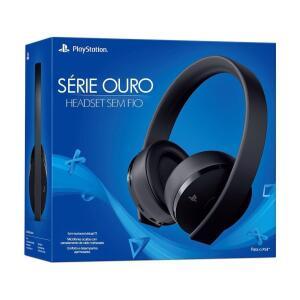 Headset Gamer Sony Série Ouro 7.1 sem fio - PS4 e PS4 VR R$ 379