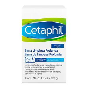 Cetaphil Sabonete Barra Limpeza Profunda 127g - R$21