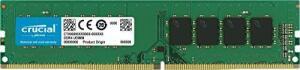 Micron Memoria Crucial Desktop 8Gb DDR4 2400Mhz, Preto