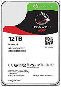 HD Interno Seagate | NAS IronWolf | Prata | 12TB | ST12000VN0007 Seagate, HD interno, Prata