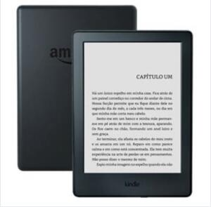 Kindle Preto com Wi-Fi, 4GB, 8ª geração | R$300