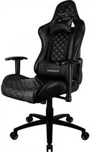 Cadeira Gamer Profissional TGC12 Preta ThunderX3 | R$789