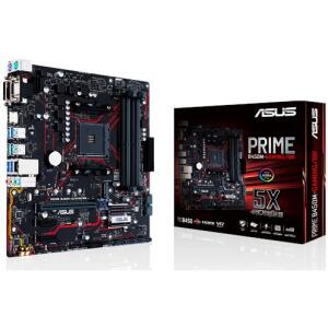 Placa Mãe Asus Prime B450M Gaming/BR, Chipset B450, AMD AM4, mATX, DDR4 R$579