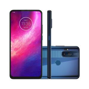 Smartphone Motorola One Hyper 128GB Azul Oceano 4G Tela 6,5 Pol. Câmera 64MP Selfie 32MP Dual Chip Android 10