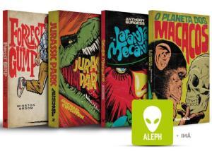 Kit Livros - Coleção Cine Aleph + imã