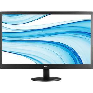"Monitor LED 21,5"" Widescreen/Full HD AOC e2270Swn R$503"