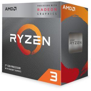 Processador AMD Ryzen 3 3200G 3.6GHz (4.0GHz Turbo), 4-Cores 4-Threads, Cooler Wraith Stealth, AM4 R$629