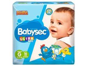 [Supermarket/RJ] Fralda BabySec Galinha Pintadinha 16und - Diversos tamanhos R$5