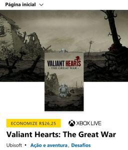 Valiant Hearts: The Great War [Xbox One]
