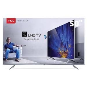 SmartTV TCL LED 50 4K LED P65US | R$1.899