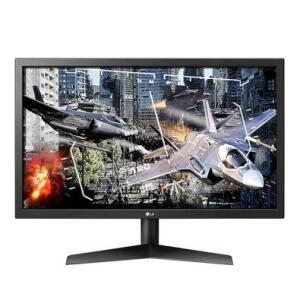 "Monitor Gamer LG LED 24"" 144Hz, 1ms - 24GL600F-B | R$ 1.300"