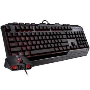 Kit Gamer Cooler Master Devastator 3 Plus - Teclado LED, ABNT + Mouse LED - SGB-3001-KKMF1-BR | R$149