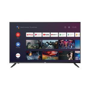 "Smart TV LED 50"" Android TV JVC LT-50MB508 4K UHD | R$1.999"