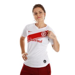 Camisa oficial Internacional Feminina NIKE   R$40
