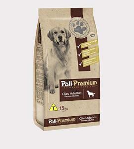 Ração Poli Premium Chronos Para Cães Adultos 15kg | R$ 63